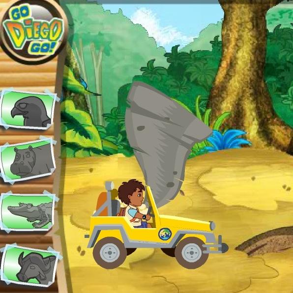 Диего спасает Африканских животных