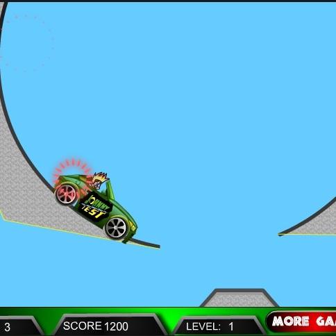 Джони Тест езда на машине