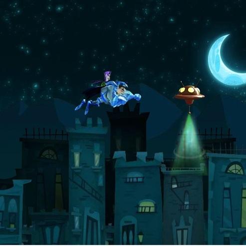 Фанбой и Чам-Чам защитник города