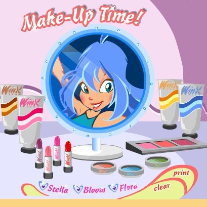 Винкс макияж времени