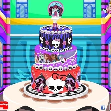 Торт для Монстер Хай