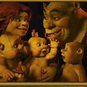 Семейство Шрека пазл