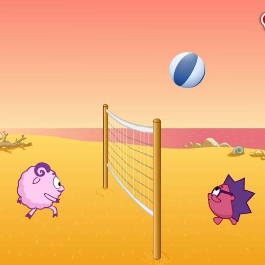 Смешарики турнир по волейболу