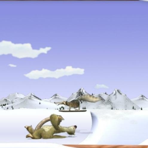 Ледниковый Период прыжки Скрэта