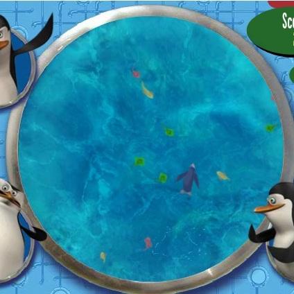 Пингвины Мадагаскара заморозка рыбы