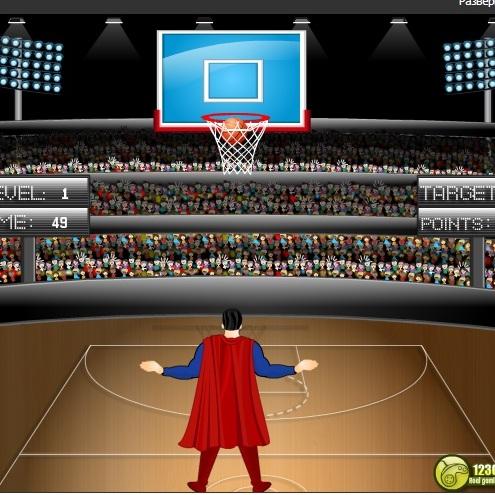 СуперМен баскетболист