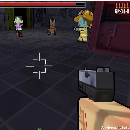 Майнкрафт атака зомби
