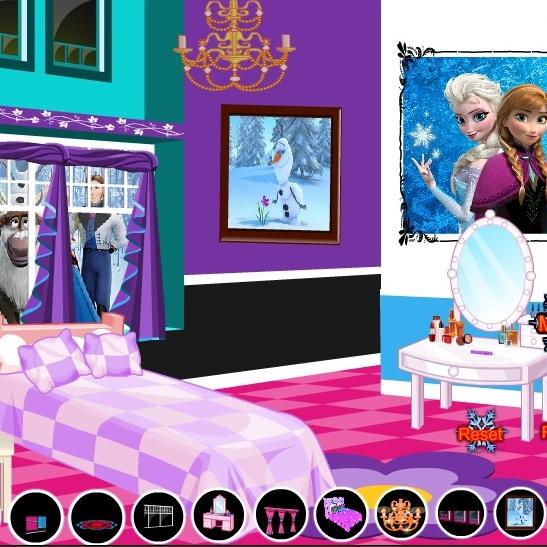 Холодное Сердце декор комнаты