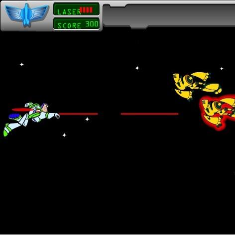 История Игрушек битва в космосе Базза