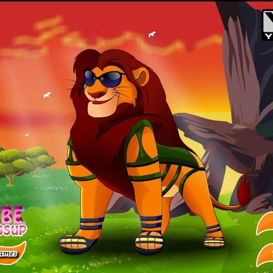 Новый прикид Короля Льва