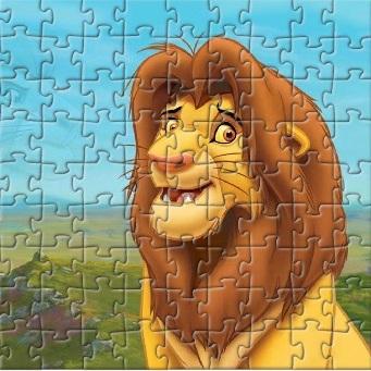 Пазл Король Лев