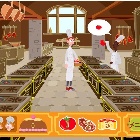 Рататуй Лингвини помогает на кухне