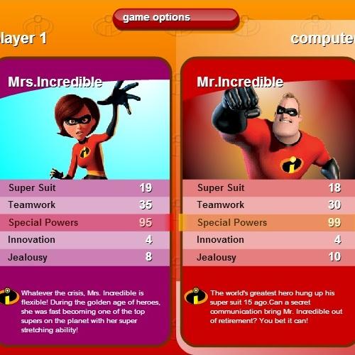 Суперсемейка битва карточками