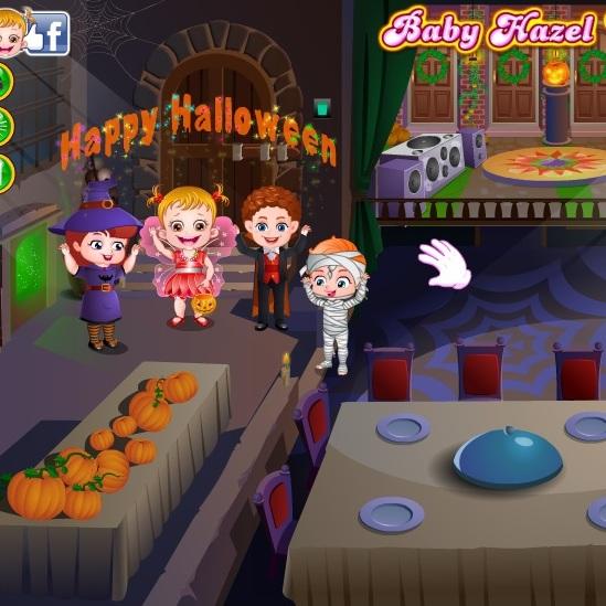 Малышка Хейзел праздник Хэллоуина