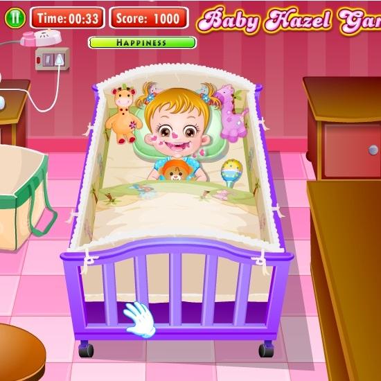 Малышка Хейзел готовится ко сну