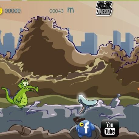 Крокодильчик Свомпи прыгун - Крокодильчик Свомпи