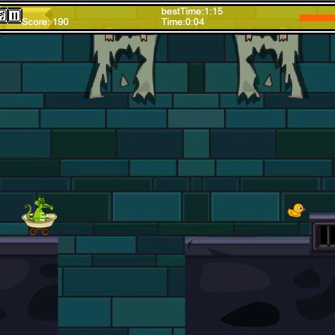 Крокодильчик Свомпи гонка в ванной