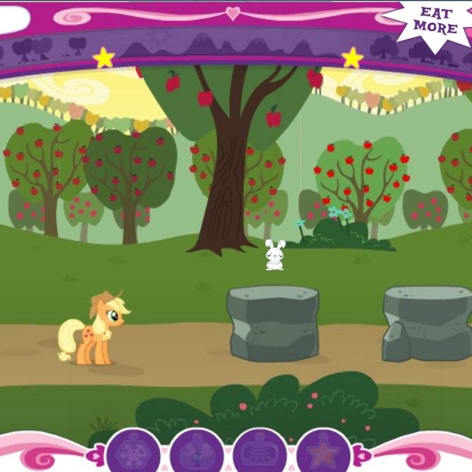 Литл Пони магическая гонка