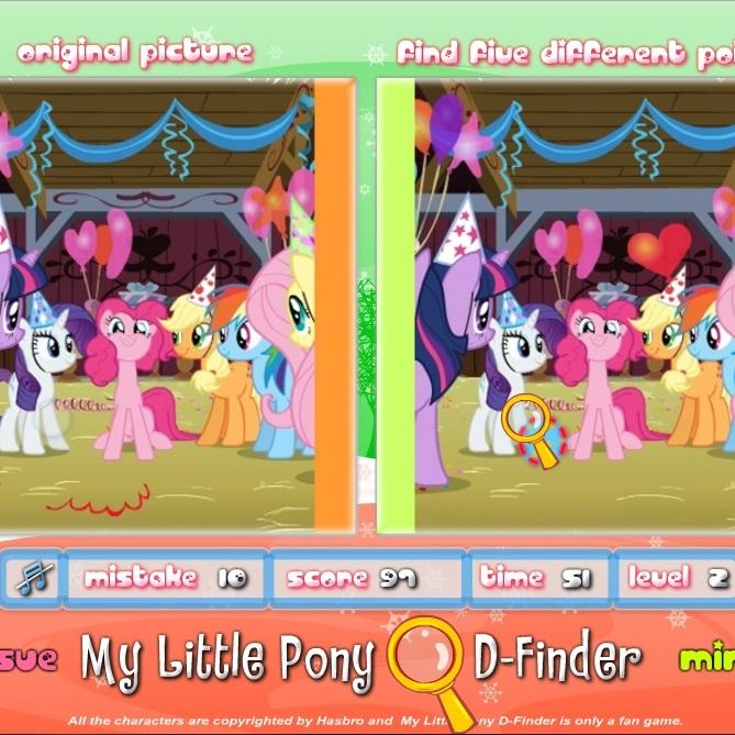 Литл Пони отличия