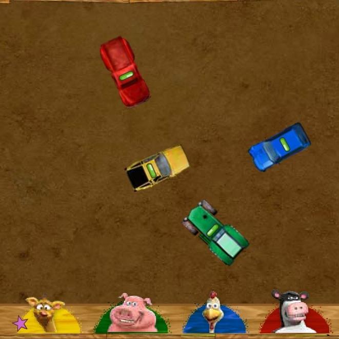 Рога и Копыта бойня машин на ферме