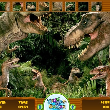 Динозавры потерянные части - Динозавры