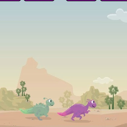 Бега Динозавров - Динозавры