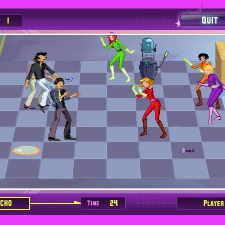 Тотали Спайс шахматы шпионов