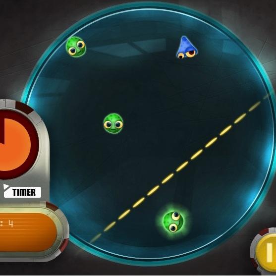 Монстры против Пришельцев уничтожение микробов