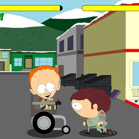 Южный Парк битва инвалидов