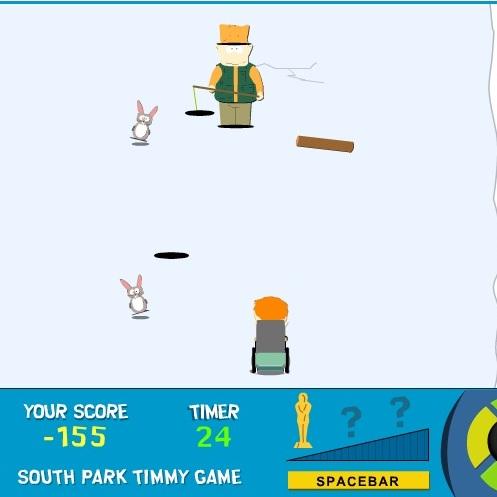 Южный Парк гонка Тимми
