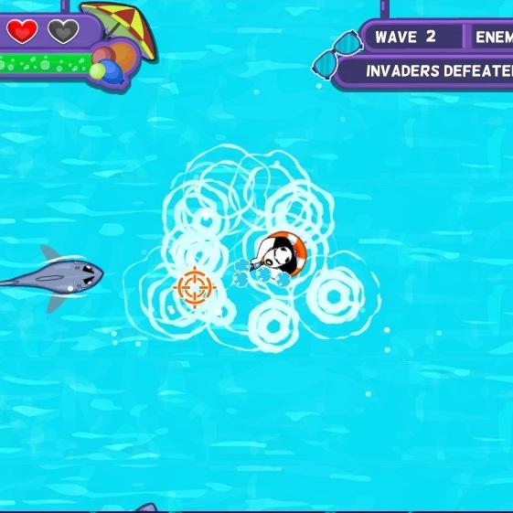 Турбо агент Дадли битва в басейне