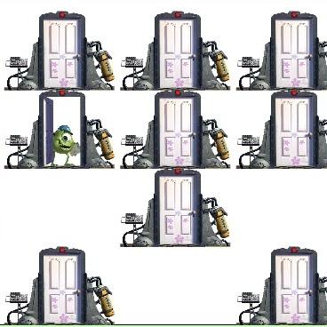 Корпорация Монстров двери памяти
