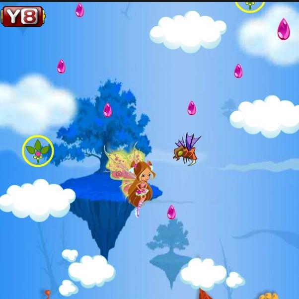 Винкс летающая Флора