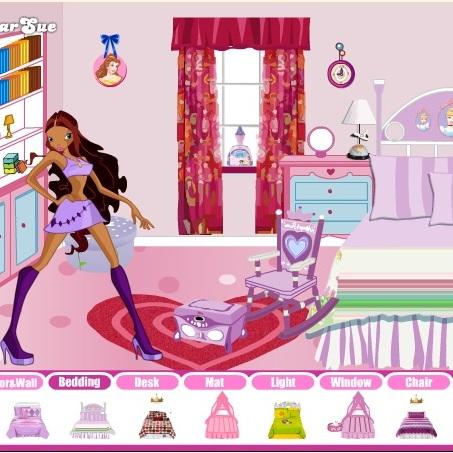 Винкс комната Лейлы