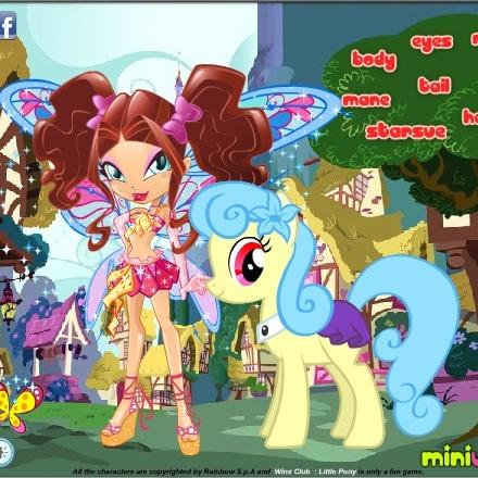 Винкс и пони