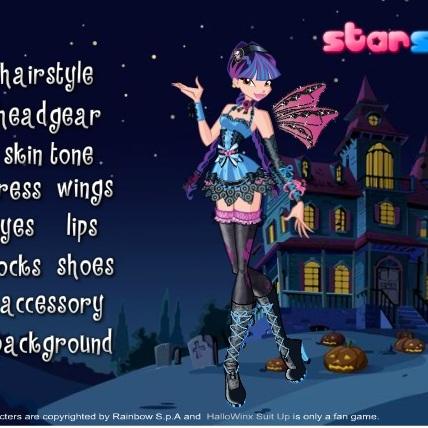 Винкс на Хэллоуине
