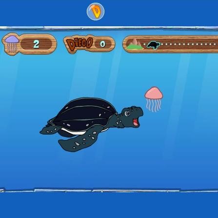 Черепаха Диего путишественница