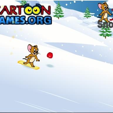 Джерри на сноуборде