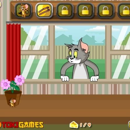 Том и Джерри обмани кота