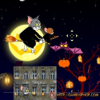 Том и Джерри празник хэллоуина