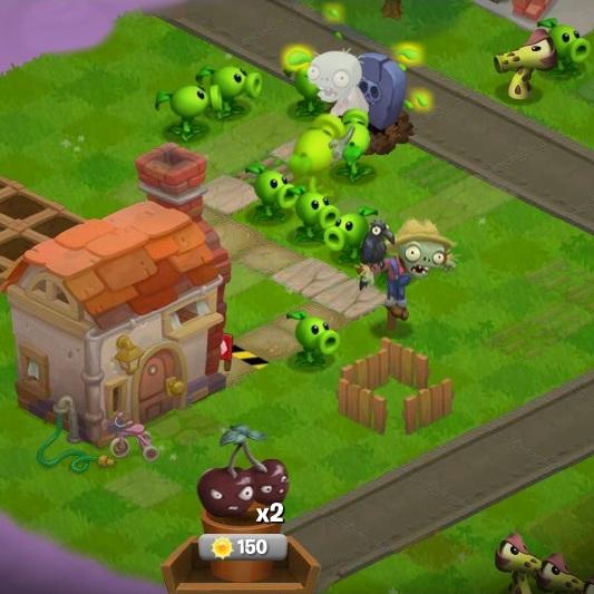 Растения против Зомби приключения - Растения против Зомби