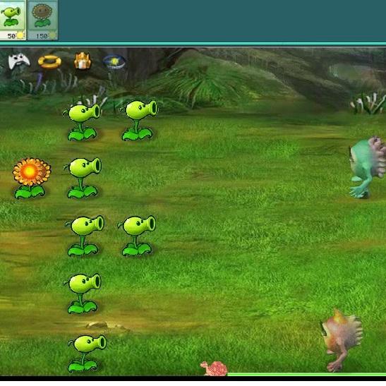 Растения против Зомби вторжения инопланетян