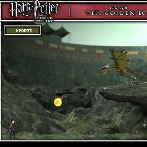 Гарри Поттер против дракона