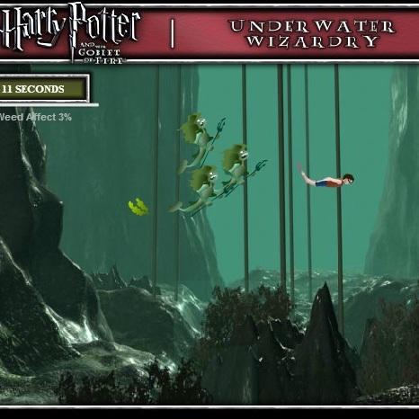Гарри Поттер подводное испытание