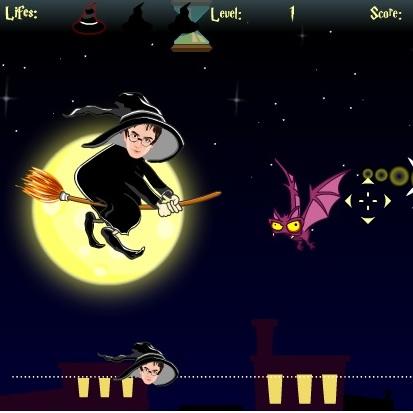 Гарри Поттер ночь Хэллоуина