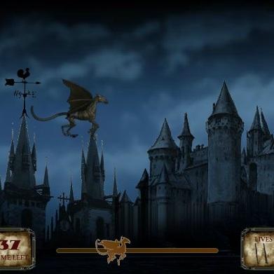 Полёт Гарри Поттера на фестрале
