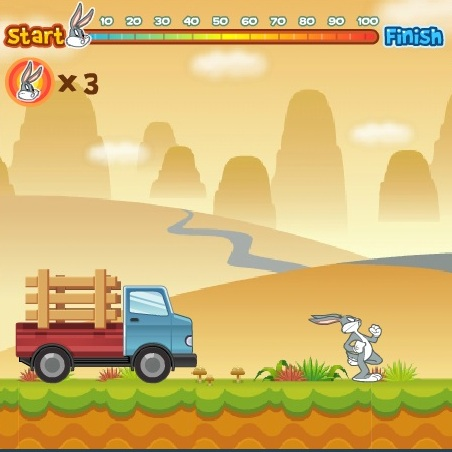 Багз Банни охота на морковь