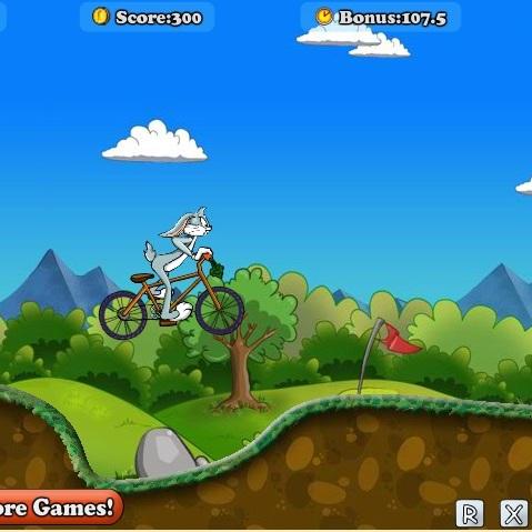 Багз Банни велосипедист