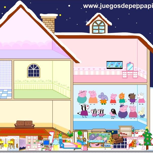 Домик семьи Свинки Пеппи - Свинка Пеппа