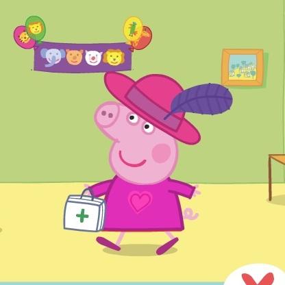 Свинка Пеппа одевалка